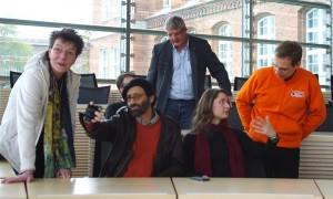 Die niedersächsischen Landtagskandidaten zu Besuch in SH (Foto: @appgra)