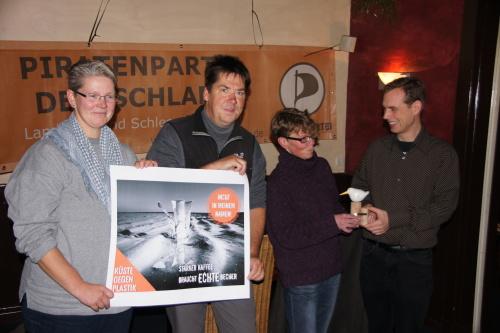 Verleihung des Veränderungspreises Westküste 2014, Foto: Axel Sieck